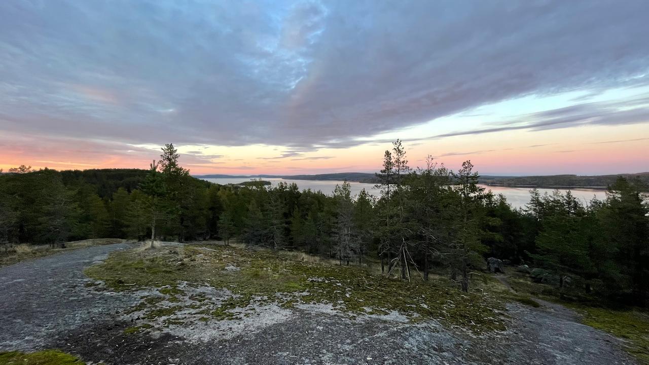 Näkymä Muuratsalon Paljaspään laelta (kuva: Niko Nappu).